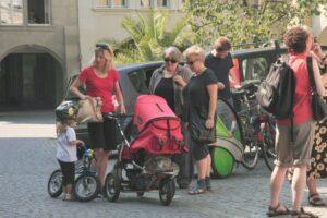 Apéro auf dem Kronenplatz 21. August 2010